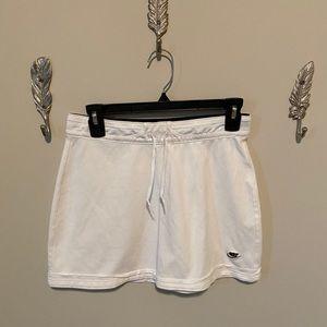 Nike white knit athletic skirt XS